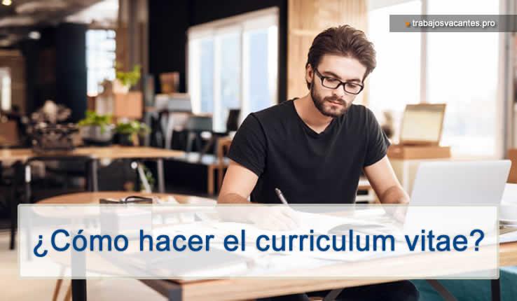 Como hacer el Currículum vitae según tu perfil profesional