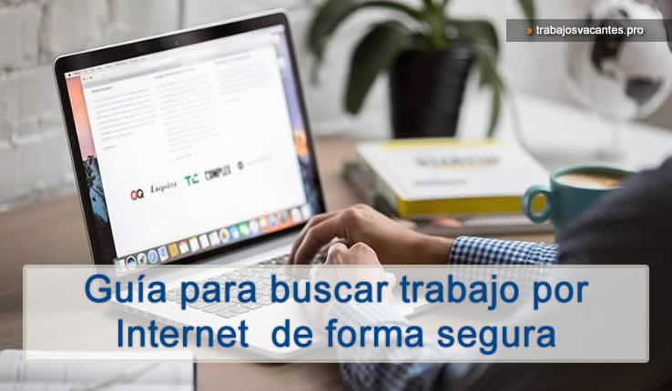 Como buscar trabajo por internet de forma segura