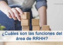 Cuales son las principales funciones del área de RRHH