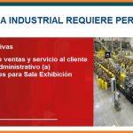 Recluta: Empresa Industrial